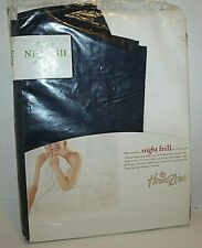 Dust Ruffle Bed Skirt King Navy Blue Extra Length Polycotton Night Frill NEW
