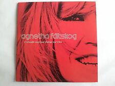 Agnetha Fältkog (Abba) - If I thought you'd ever change your mind  Promo Maxi CD