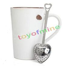 Hot Stainless Steel Loose Tea Infuser Leaf Strainer Filter Diffuser