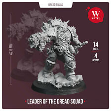 Artel W Miniatures - Leader of the Dread Squad - BRAND NEW!!!