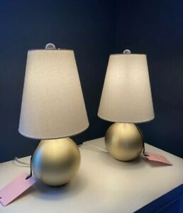 Kate Spade New York Round Gold Sphere Table Lamp New