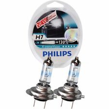 GENUINE PHILIPS X-TREME VISION +130% H7 HEADLIGHTS BULBS TWIN PACK - NEW