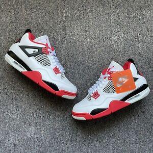 Brand New Jordan 4 Fire Red 2020 DS nike og sb dunk high low 1 3 11 10