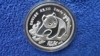 China 5 OZ 1988 / Silber Panda / PP / INT. MUNICH COINS FAIR / RARITÄT / TOP
