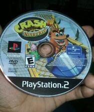 Crash Bandicoot Nitro Kart (Sony PlayStation 2) PS2 Disc Only TESTED