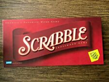 Scrabble Crossword Board Game 2001 Parker Brothers Brand