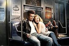 SUBWAY Ride: MONROE e Dean-Maxi poster 91.5 CM x 61 cm Nuovo e Sigillato