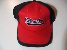 Nebraska Huskers: plastic strap adjustable hat/ball cap, NEW