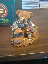 "Boyds Bears & Friends Resin Wilson The ""Perfesser"" Style #2222/#22E/772"