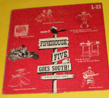 Firehouse Five Plus 2 Goes South 1954 Ten Inch LP Great Cover! Nice See!