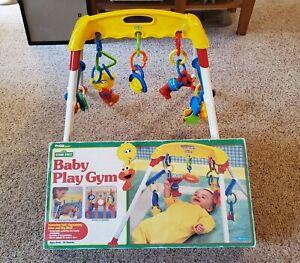 Vintage 1996 TYCO Preschool Baby Sesame Street Play Gym Floor Activity Toy