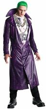 Adult Mens XL Licensed The Joker Costume Deluxe Suicide Squad Fancy Dress Outfit