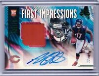 2018 ILLUSIONS ANTHONY MILLER FIRST IMPRESSIONS ROOKIE AUTO JERSEY /25 #101 PD