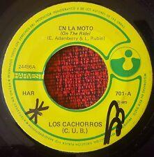"""C.U.B. (Los Cachorros) ** On The Ride ** ORIGINAL 1972 Venezuela 7"""" Single"""
