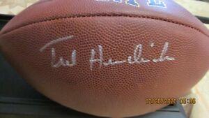 Ted Hendricks Oakland/LA Raiders Signed Football  PSA/DNA COA