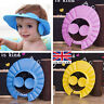 Soft Toddler Baby Bath Hat Shower Shampoo Visor Hats Wash Hair Shield Cap 520