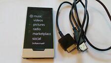 Microsoft Zune HD Platinum (32GB) Digital Media Player Works Great
