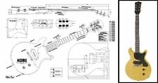 Gibson Les Paul® Jr Double Cutaway Guitar Plan