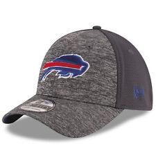 Buffalo Bills NFL New Era Heathered Gray/Graphite Shadowed Team 39THIRTY M/L