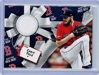 2019 Topps CHRIS SALE Walmart Holiday Relics #WHR-CSA (Red Sox) Jersey