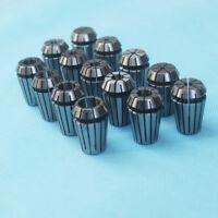 New 14Pcs ER20 Spring Collet Set For CNC Milling Lathe Tool Engraving Machines