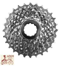 SUNLITE  8-SPEED---11-28T MTB--ROAD SILVER BICYCLE CASSETTE