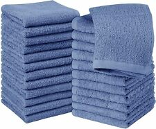 Pack of 24 Cotton Washcloths 12x12 inches for Finger and Face Utopia Towels
