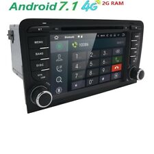 AUTORADIO RNSE ANDROID 7.1 PER AUDI A3 DAL 2003 AL 2013 STEREO 2 DIN NAVIGATORE