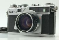 [NEAR MINT] Nikon SP Rangefinder w/Nikkor S 5cm (50mm) F1.4 From Japan 616