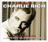 CHARLIE RICH - THE BEST OF CHARLIE RICH - HIS FINEST SONGS (NEW SEALED 2CD)