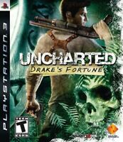 Uncharted: Drake's Fortune - 2007 Action - (Teen) - Sony PlayStation 3 PS3