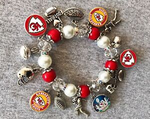 Kansas City Chiefs AFC Champs bracelet
