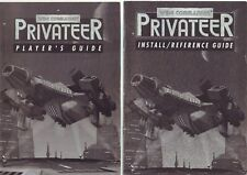 WING COMMANDER : PRIVATEER 1 - PC GAME EDITION - MANUAL & INSTALL/REF GUIDE ONLY