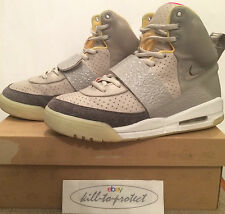 (utilisé) nike air yeezy 1 un Zen Gris US8 UK7 tan 366164-002 par kanye west 2009