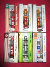 LOT OF 6 GEARBOX 1/25 SCALE LIMITED EDITION WAYNE GAS PUMP 76 , 66 , TEXACO +