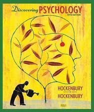Discovering Psychology, 5th Edition by Don H. Hockenbury, Sandra  E. Hockenbury