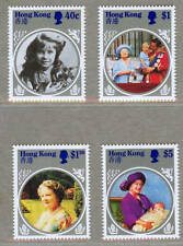 Hong Kong 1985 Life and Time of QEII Mother Stamps