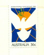 UCCELLI - BIRDS AUSTRALIA 1986 Year of The Peace