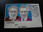 FRANCE - carte 1er jour 12/9/1981 (costes et le brix) (cy16) french