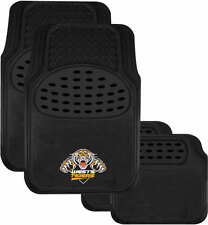 BRAND NEW NRL WEST TIGERS FRONT AND BACK CAR FLOOR MATS NRL