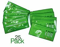 Pack of 25 LH Ovulation Test Strips - FDA Approved From US