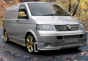 VW T5 Transporter Frontspoiler Front-Ansatz Spoilerlippe Tuning 2003-2009