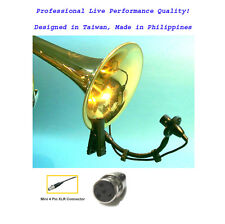 Saxophone Microphone Instrument Mic for Shure Wireless_Horn Clarinet Tuba Sax