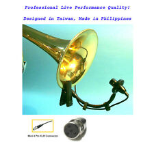Saxophone Musical Instrument Mic for Shure Wireless_Horn Clarinet Tuba RoHs TA4F
