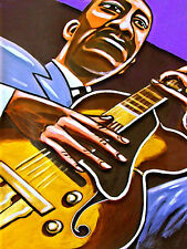 WES MONTGOMERY PRINT poster incredible jazz guitar full house cd gibson guitar