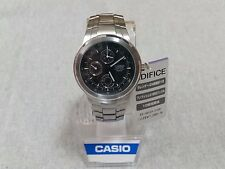 New CASIO Watch Standard Chronograp EF-305D-1AJF Mens From Japan F/S