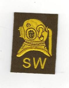 ROYAL ENGINEERS SHALLOW WATER DIVERS TRADE BADGE - NEW