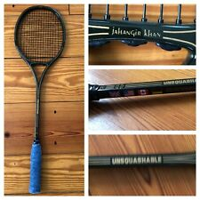 Unsquashable Jahangir Rahmat Khan Silhouette I Squash Boron Racket Racquet