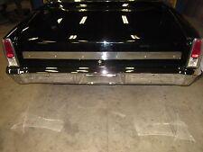 1966 chevy nova trunk lid molding custom polished aluminum deck lid trim