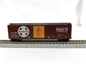 N Scale - Micro-Trains #32076 - Santa Fe #6119 - 50' Boxcar - Blue Label